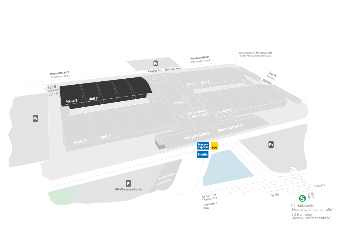 REHAB - Rehabilitation | Therapy | Care | Inclusion fairground map: Hall 2
