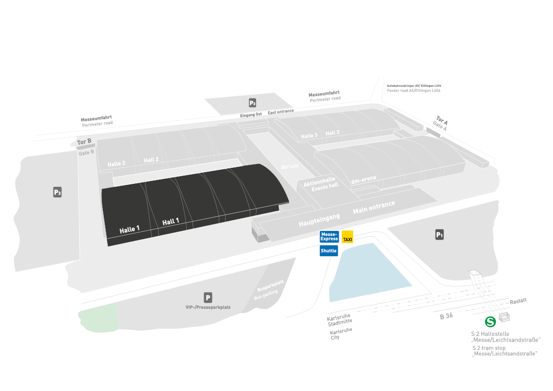 REHAB - Rehabilitation | Therapy | Care | Inclusion fairground map: Hall 1